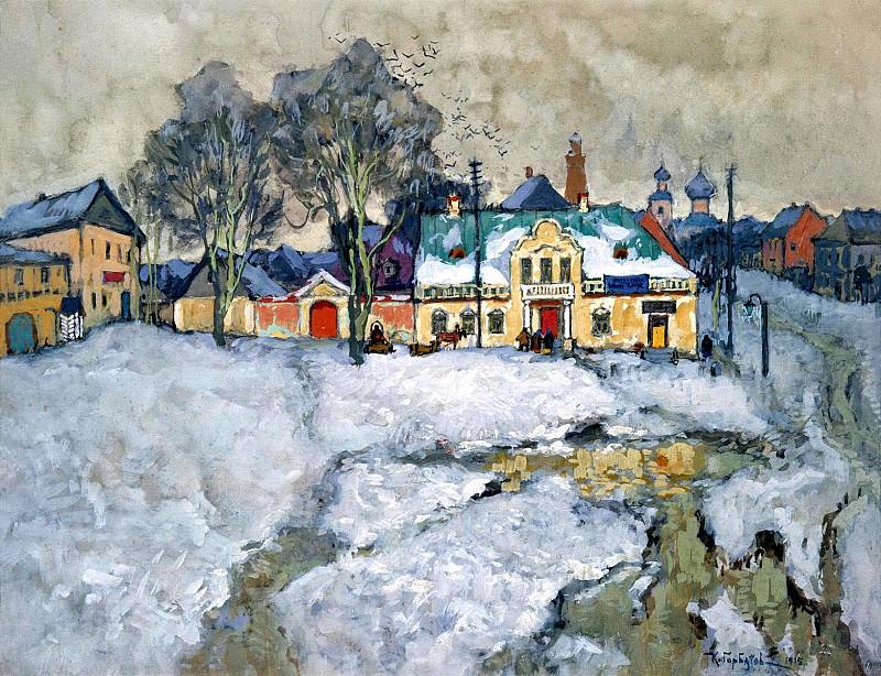 Gorbatov Constantine - Province. 900 Classic russian paintings
