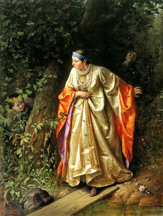 Gribkov Sergey - Hide and Seek. 900 Classic russian paintings