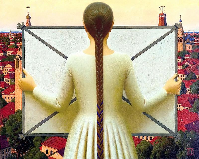 РЕМНЁВ Андрей - «Завтра будет ветер». 900 Картин самых известных русских художников
