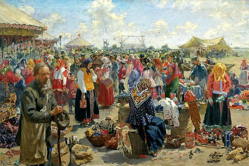 KULIKOV Ivan - Fair. 900 Classic russian paintings