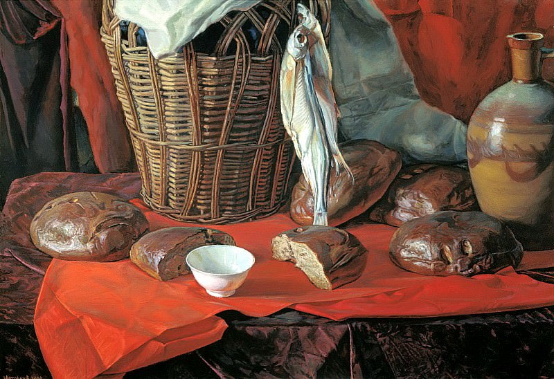 Matorin Victor - Five loaves. 900 Classic russian paintings