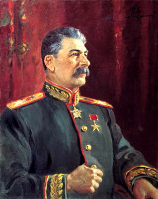 Portraits of Stalin - Alexander Gerasimov. 2. 900 Classic russian paintings