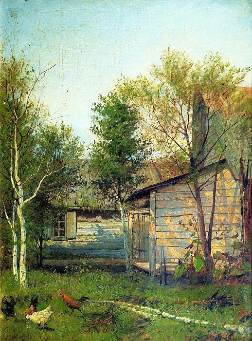 Isaak Levitan - Sunny Day. 900 Classic russian paintings