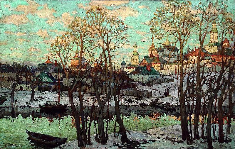 Gorbatov Constantine - Cityscape. 900 Classic russian paintings