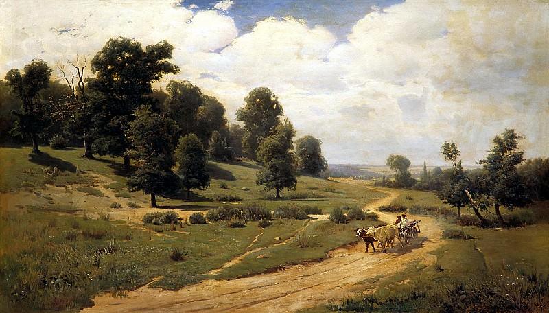 Vasilkovsky Sergey - Ukrainian landscape. 900 Classic russian paintings
