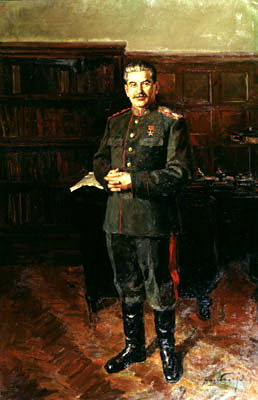 Portraits of Stalin - Dmitry Nalbandian. 900 Classic russian paintings