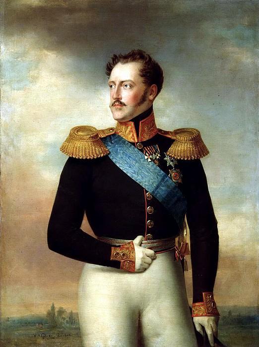 Golikov Basil - Nicholas I. 900 Classic russian paintings
