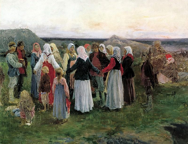 Alexei Stepanov - Runaround. 900 Classic russian paintings