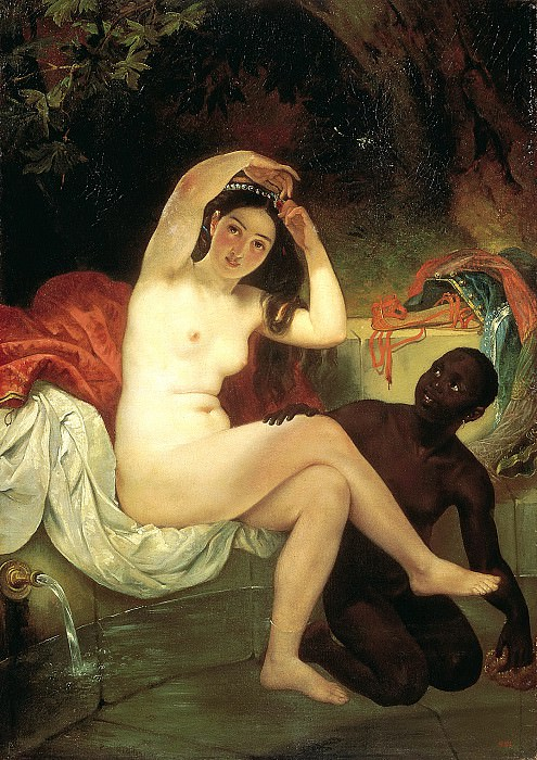 BRYULLOV Karl - Bathsheba. 900 Classic russian paintings