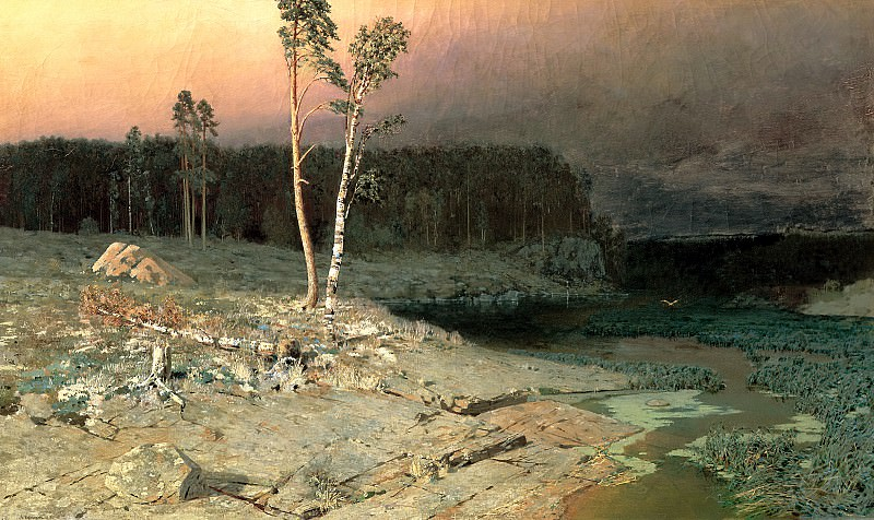 Kuindzhi Arkhip - On the island of Valaam. 900 Classic russian paintings