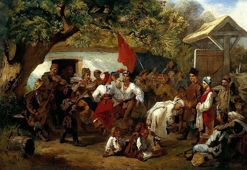 SOKOLOV Ivan - Wedding. 900 Classic russian paintings