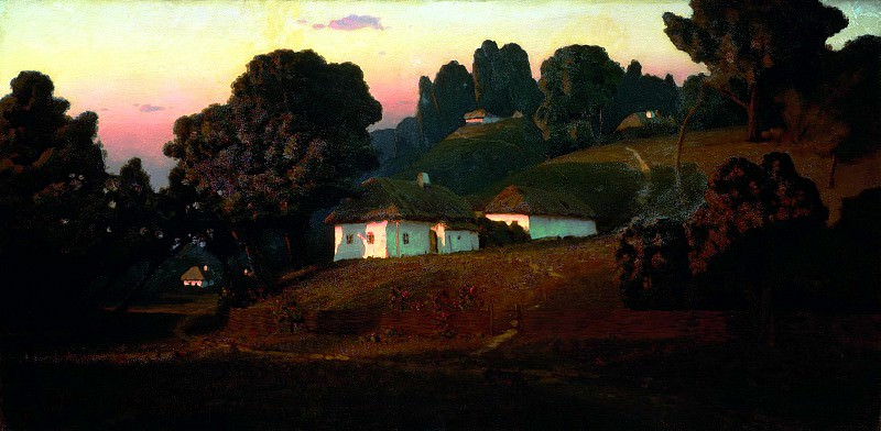 Kuindzhi Arkhip - Evening in Ukraine. 900 Classic russian paintings