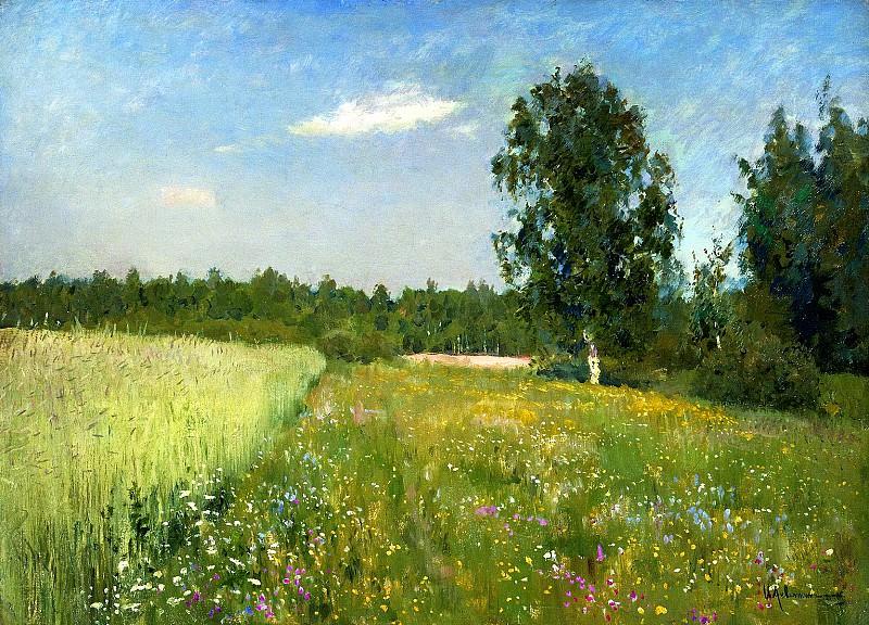 Isaak Levitan - Summer. 900 Classic russian paintings