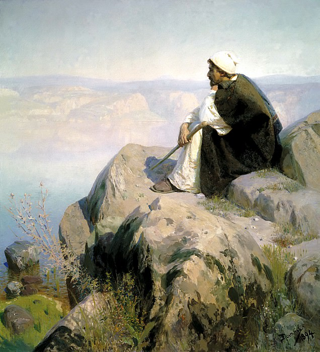 Polenov Vasily - Dreams. 900 Classic russian paintings