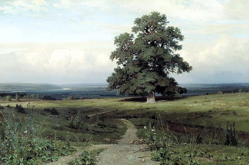 Shishkin Ivan - Among the open valley .... 900 Classic russian paintings