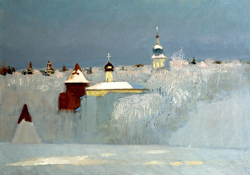 ANOKHIN Nikolai - Russian Winter. 900 Classic russian paintings