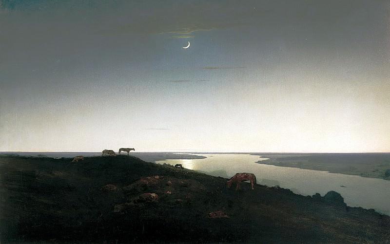 Kuindzhi Arkhip - Night. 900 Classic russian paintings