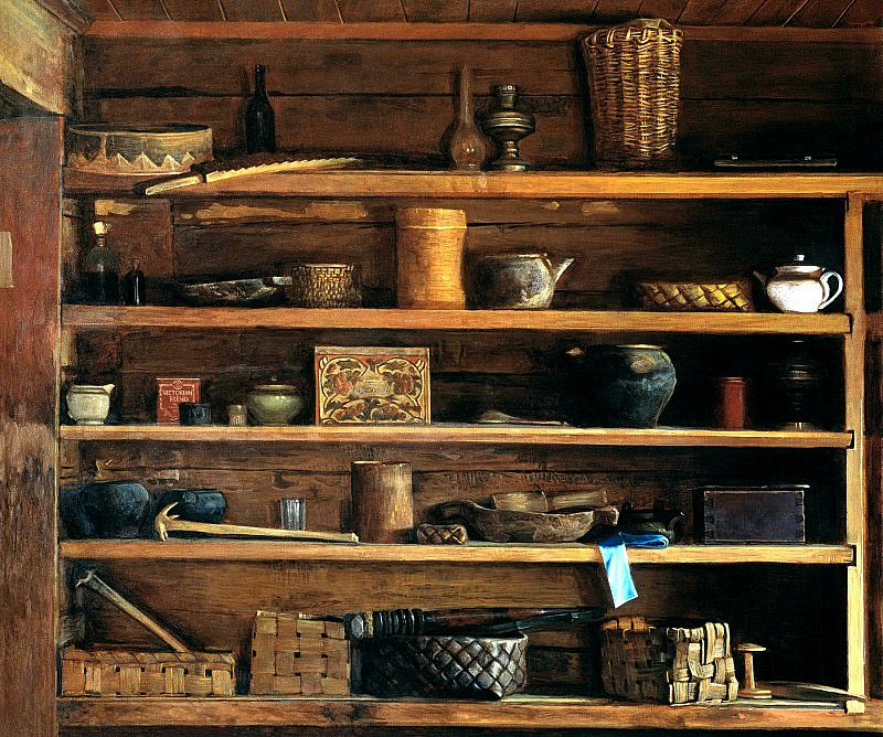 ANOKHIN Nick - Rustic shelves. 900 Classic russian paintings