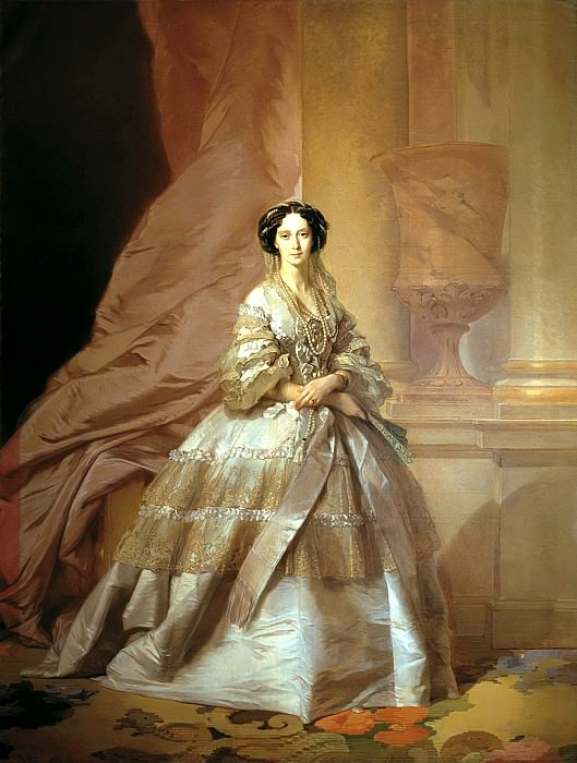 MAKAROV Ivan - Portrait of Empress Maria Alexandrovna (1824-1880), wife of Alexander II. 900 Classic russian paintings
