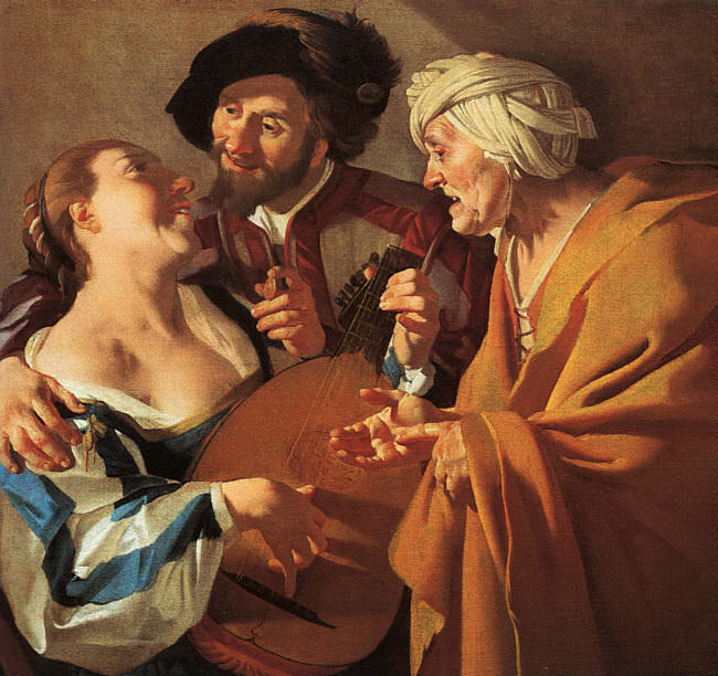 BABUREN Dirck van The Procuress. Dutch painters
