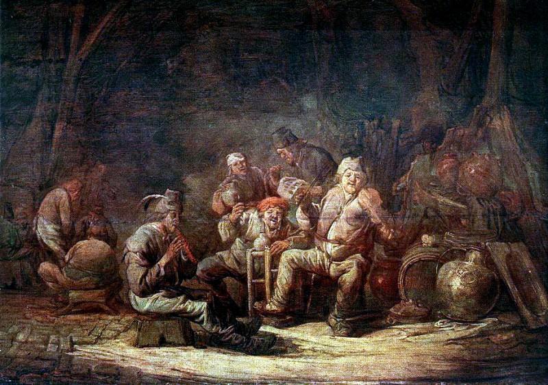 CUYP Benjamin Gerritsz Peasants In The Tavern. Голландские художники