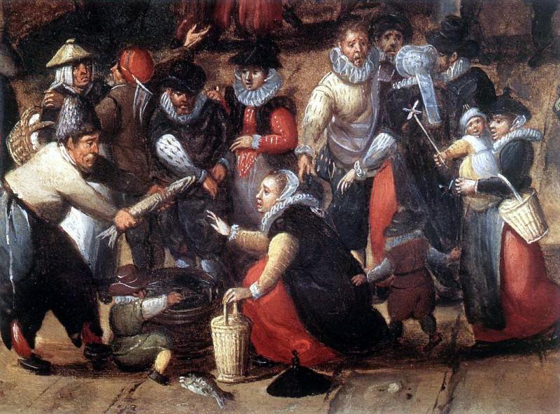 BOL Hans Village Feast detail. Dutch painters