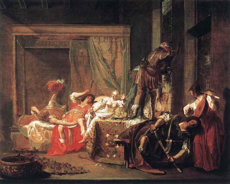 KNUPFER Nicolaus Brothel Scene. Голландские художники