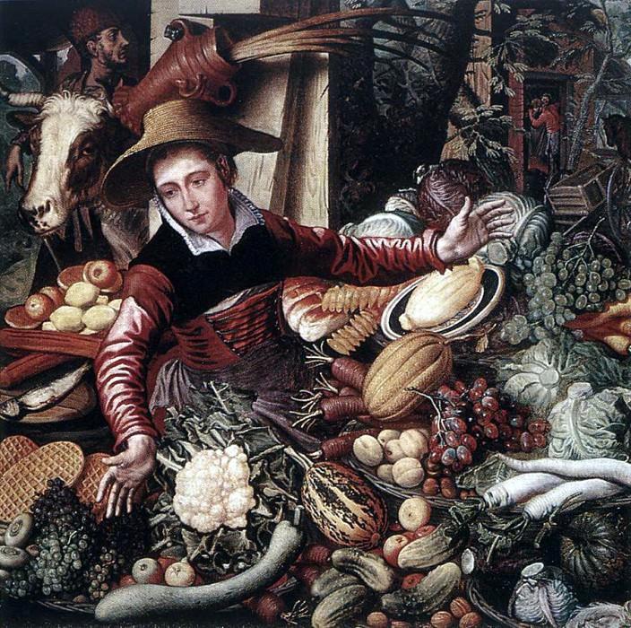 AERTSEN Pieter Vendor Of Vegetable. Голландские художники