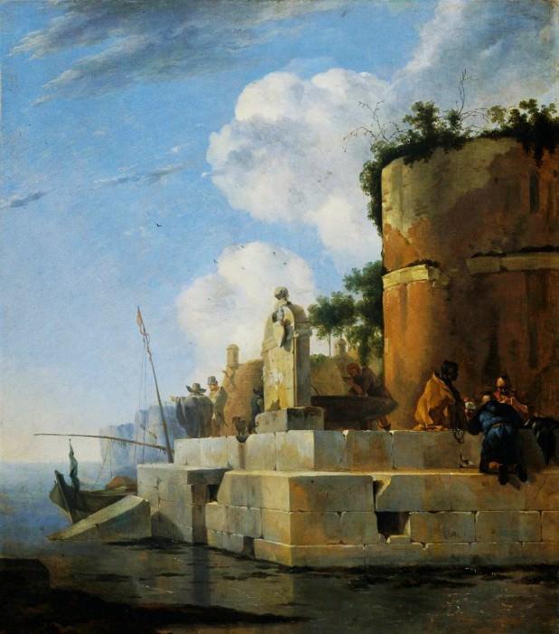 Asselijn Ruin. Голландские художники