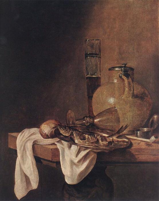 BEYEREN Abraham van The Breakfast. Dutch painters