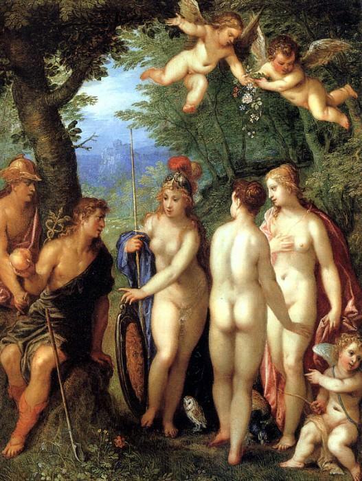 BALEN Hendrick van The Judgement Of Paris. Голландские художники