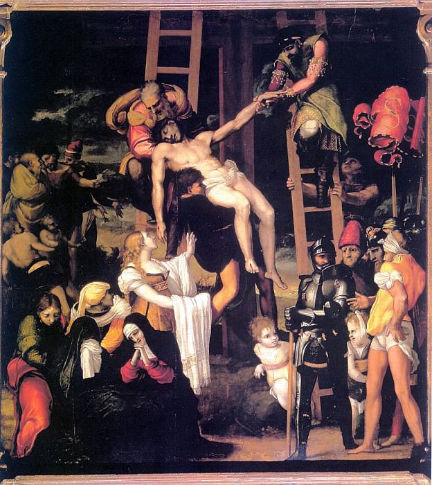 Machuca, Pedro (Spanish, approx. 1490-1550). Испанские художники
