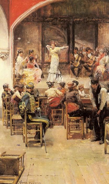 Ramos Jose Garcia Y Spanish Cabaret. Испанские художники