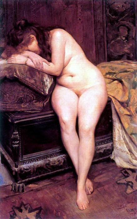 Olano Ignacio Diaz unknown 1895. Испанские художники