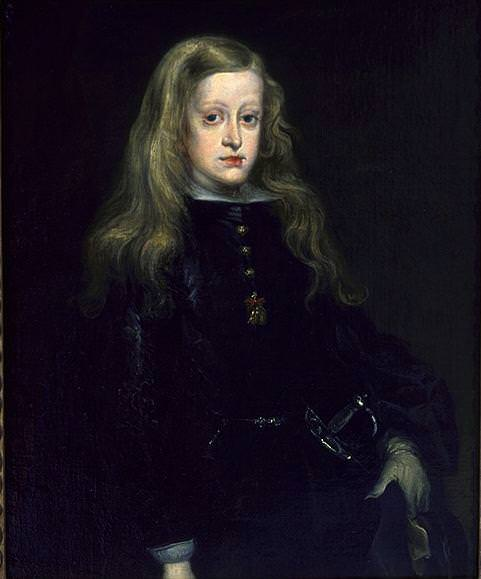 CARRENO DE MIRANDA Juan King Charles II Of Spain. Испанские художники
