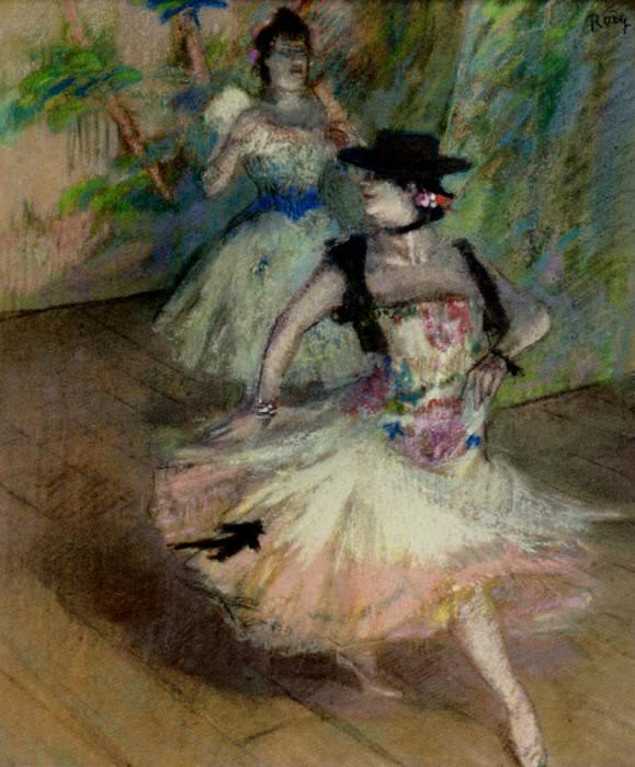 Roig Spanish Ballerinas. Spanish artists