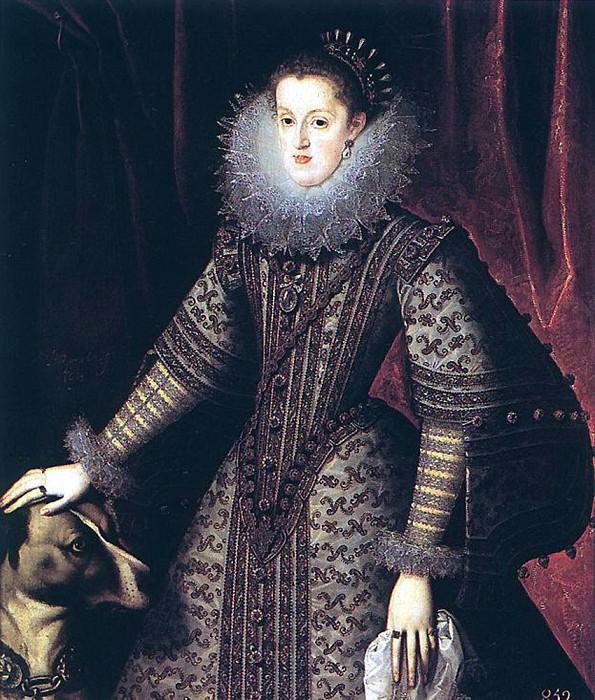 GONZALEZ Bartolome Queen Margarita of Austria 1502. Spanish artists