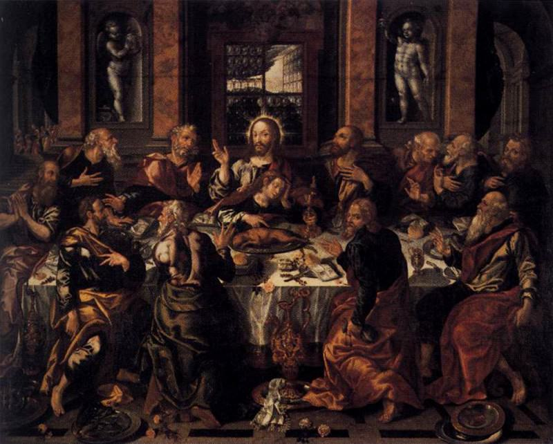 VAZQUEZ Alonso Last Supper. Spanish artists