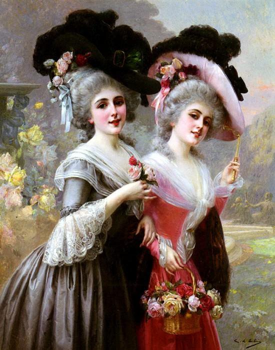 Antonio Cristobal de The Basket Of Roses. Spanish artists