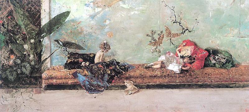 Marsal, Mariano Fortuny y (Spanish, 1838-1874)1. Spanish artists