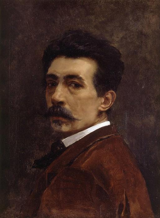 Juan Joaquin Agrasot Autorretrato. Испанские художники