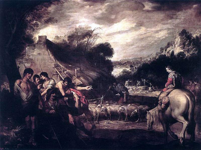 CASTILLO Antonio del Joseph And His Brethren. Испанские художники