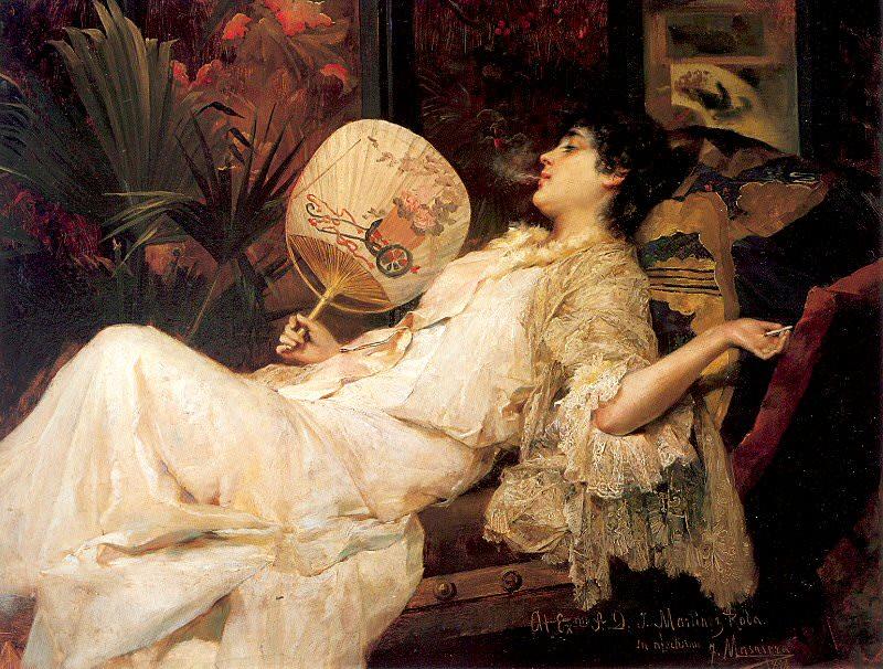 Manovens, Francisco Masriera (Spanish, 1842-1902). Испанские художники