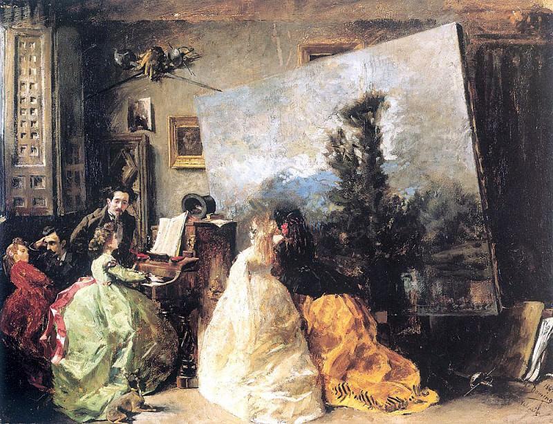 Marques, Francisco Domingo (Spanish, 1842-1920)1. Spanish artists