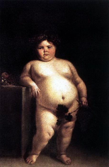 CARRENO DE MIRANDA Juan La Monstrua Desnuda. Испанские художники