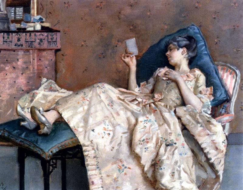 Ochoa Y Madrazo Raphael De The Letter. Испанские художники