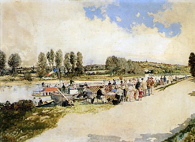 Atalya Enrique Samois Seine. Spanish artists