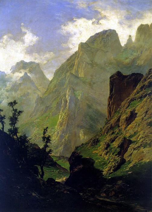 Haes, Carlos de (Spanish, 1826-1868). Испанские художники
