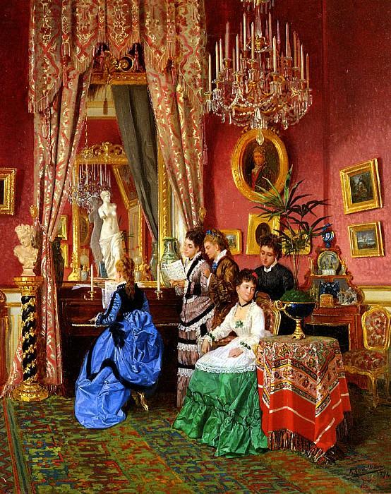 Mencia Antonio Garcia y The Musical Party. Spanish artists