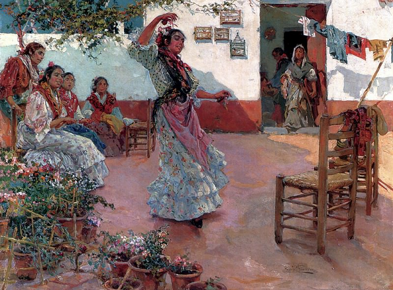 Guerrero Manuel Ruiz The Flamenco Dance. Spanish artists
